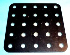 Meccano Elektrikit part 511 Insulating Plate, black
