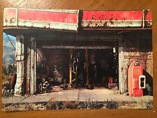 Tin Sign Vintage Fallout 4 Gas Station