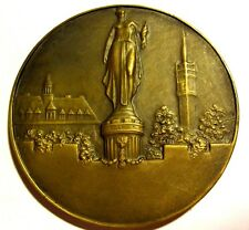LILLE / FRENCH CITY/ LAMBLIN / BEAUTIFULL BRONZE MEDAL / 62 mm / N126