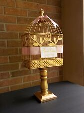 Birdcage Wedding Card Boxes Wishing Wells eBay