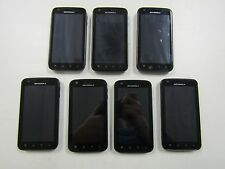 seven MOTOROLA ATRIX 4G BLACK MB860 UNKNOWN CARRIER UNTESTED FUNCTIONALITY 6700