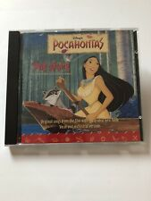 Pocahontas - Original Soundtrack (1995 CD Album) Music Soundtrack & Lyric Book