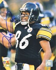 Hines Ward Autographed Pittsburgh Steelers 8x10 Photo (Smiling) - JSA COA