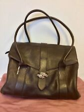 RADLEY DARK BROWN LEATHER  SHOULDER TOTE BAG