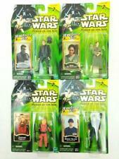 Star Wars Power of the Jedi Action Figure Lot 4 Obi-Wan Shmi Zutton Bespin Guard