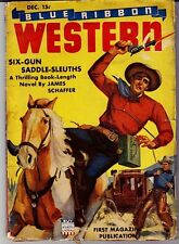 BLUE RIBBON WESTERN - (12/1942) JAMES SCHAFFER, ANTHONY RUD