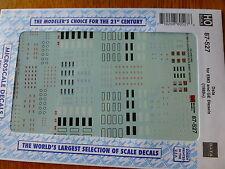 Microscale Decal HO #87-527 Diesel Loco Data Sheets -- GE & EMD Data & Builders