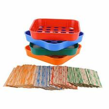Coin Sorters Tray Amp Coin Counters 4 Color Coded Coin Sorting Tray Bundled W