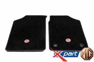 Genuine MG TF / MGF Black Carpet tailored front floor car mats - EAH103900PMA