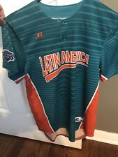2017 Latin America LLWS Little League World Series Jersey Size Youth L Russell