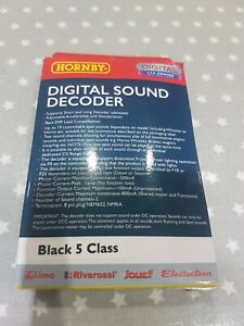 Hornby R8114 TTS Sound Decoder Black 5  Class