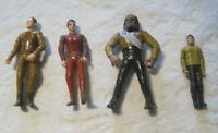 """Star Trek Lot ~ Vintage 1990"""" Lot of 4 Action Figures"""