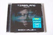 TIMBALAND - SHOCK VALUE II CD 2009 (Justin Timberlake Drake Nelly Furtardo)