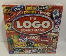 The Logo Board Game NEW & Sealed Spin Master 2011 Edition