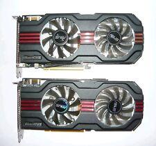 !!!2X!!! ASUS GeForce GTX 560 Ti DirectCU II - INKLUSIVE SLI BRIDGE -