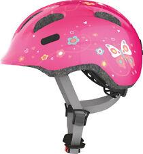Abus Fahrradhelm Kinderhelm Smiley 2.0 pink butterfly 45-50 cm