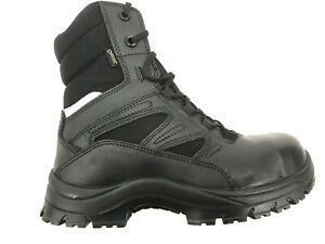 NEW GOLIATH DLPM1254 Safety Side Zip Steel Toe S3 YDS Boot,Army Issue #3805
