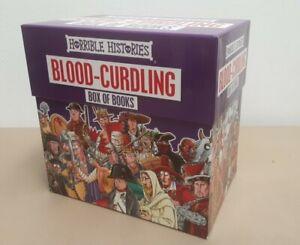 Horrible Histories: Blood Curdling Box of Books Full Set