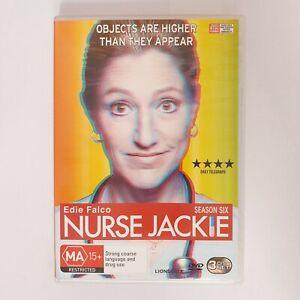 Nurse Jackie Season 6 TV Series DVD Region 4 AUS - Comedy Hospital Drama