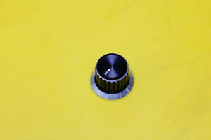 GRUNDIG SATELLIT 600 Radio Parts Repair - Medium Metal Knob Boton Button