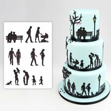 Patchwork Cutters - Family Silhouette Set - Sugarcraft and Cake Decoration Cutte
