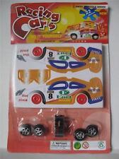 1 x montage facile carte 3d puzzle voiture de course