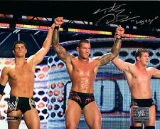 WWE SIGNED PHOTO TED DIBIASE LEGACY Randy Orton Cody Rhodes wrestling