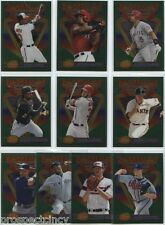 2013 Topps Finest Complete Set (100) of All-Star Throwback and '93 Inserts