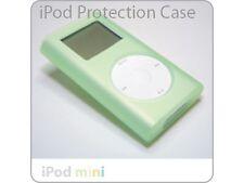 iPod Mini GREEN Click Wheel Silicone Case Skin + Clip NEW!!!
