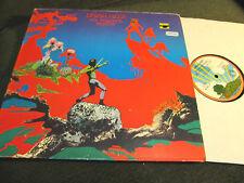 URIAH HEEP THE MAGICIAN'S BIRTHDAY '72 1st island orig! rare pink rim oop prog