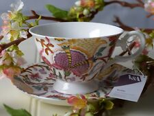 V&A TOILE Ovey Chintz FINE CHINA TEA CUP & SAUCER SET