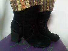 New in box Ladies Blowfish designer Black suede boot size 3 Euro 36.