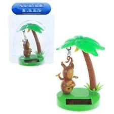 Solar Dancing Upside Down Monkey- Fun Solar Powered Car Desktop Toy Palm Tree