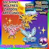 ✨SHINY✨ 6IV MOLTRES ZAPDOS ARTICUNO // Pokemon Ultra Sun and Moon ORAS XY 3DS