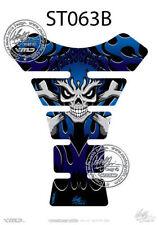 Protège-réservoirs bleus pour motocyclette
