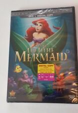 The Little Mermaid Diamond Edition DVD + DIGITAL COPY Brand New Factory Sealed