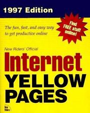 New Rider's Official Internet Yellow Pages 1997 (Que's Official Internet Yellow