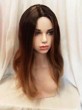 Brown Blond Blonde Caramel Skin Top Long Wig