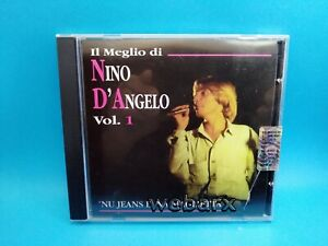 NINO D'ANGELO IL MEGLIO VOL 1 NU JEANS E NA MAGLIETTA CD OTTIMO +