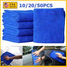 10~50PCS Soft Absorbent Wash Cloth Car Auto Care Microfiber Cleaning Towels Lot
