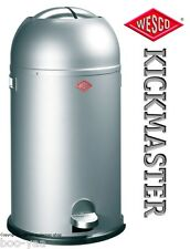 WESCO Kickmaster 33L design Abfalleimer Mülleimer Treteimer Papierkorb Tonne