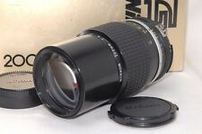 [Excellent+++ in BOX] Nikon Ai Nikkor 200mm f/4 Telephoto Lens from JAPAN