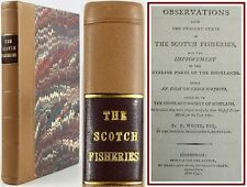 1791*WHITE'S OBSERVATIONS ON SCOTCH FISHERIES*SCOTLAND/HIGHLANDS*HERRING*RARE*VG