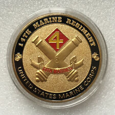 USMC 14th Marine Regiment GP Challenge Coin