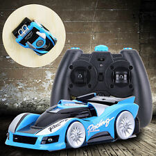 FY350 Blue Wall Climbing Climber RC Racer Remote Control Floor Racing Car Toy
