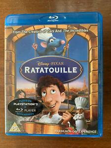 Ratatouille Blu-ray 2007 Walt Disney Pixar Paris Rat Chef Animated Movie Classic