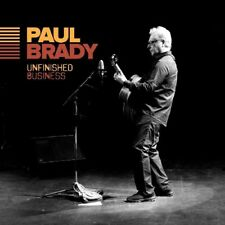 PAUL BRADY UNFINISHED BUSINESS CD (Released 8/09/2017)
