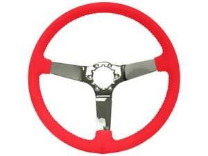 1977-82 Chevrolet Corvette OE Series Chrome Center Steering Wheel - Red