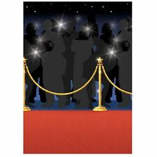50ft Hollywood Movie Prom Night Party Decoration Red Carpet Scene Setter Roll