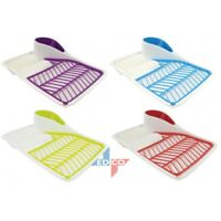 Plastic Dish drainer Durable 2017 Design Drainer Rack Tray Dish Drainer Rack